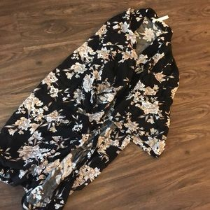 Spiritual gangster floral kimono size OS